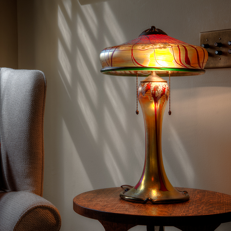 Radke Cherry Blossom Table Lamp
