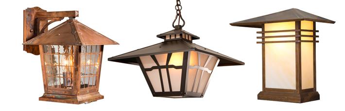 Old California Lantern Company Handmade Bungalow Cottage