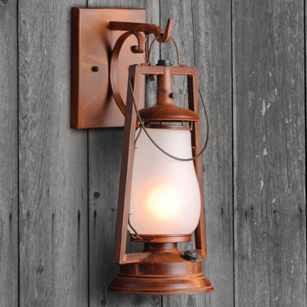 Old west lighting