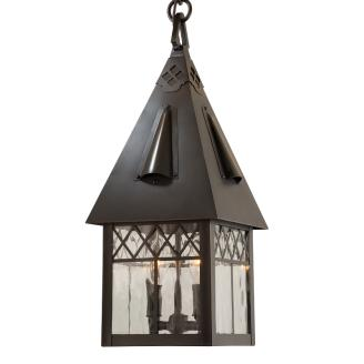 cottage style pendant lights candle cluster chain mount