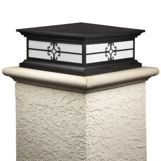 Hampton Outdoor Pier Mount Lights