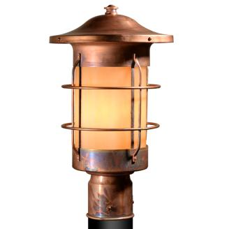 outdoor post lantern lights