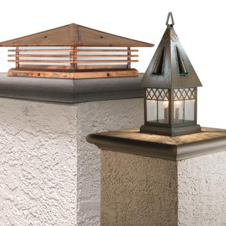 Outdoor Column Lights | Old California Lighting