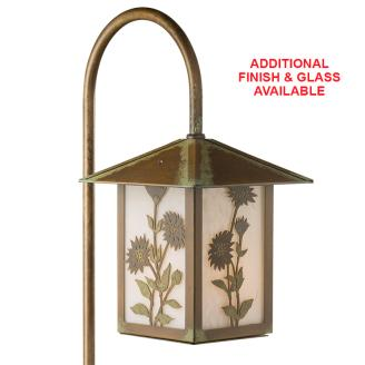 Patina Daisy Garden Light