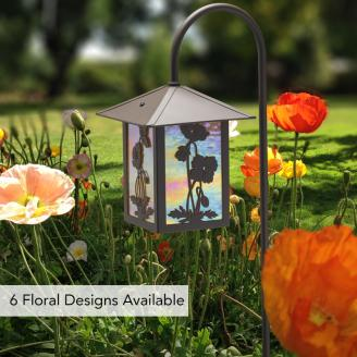 NEW FLOWER GARDEN LANTERN: SHEPARD'S HOOK
