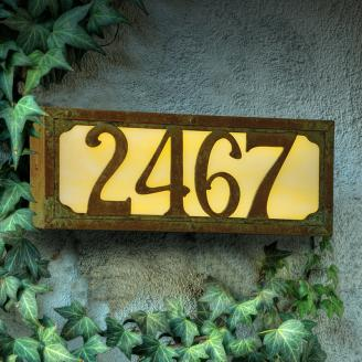 Illuminated House Numbers