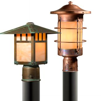 Outdoor Post Lights | Old California Lighting