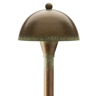 Patina Dome Path Light
