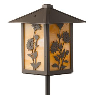 Bronze Daisy Garden Light