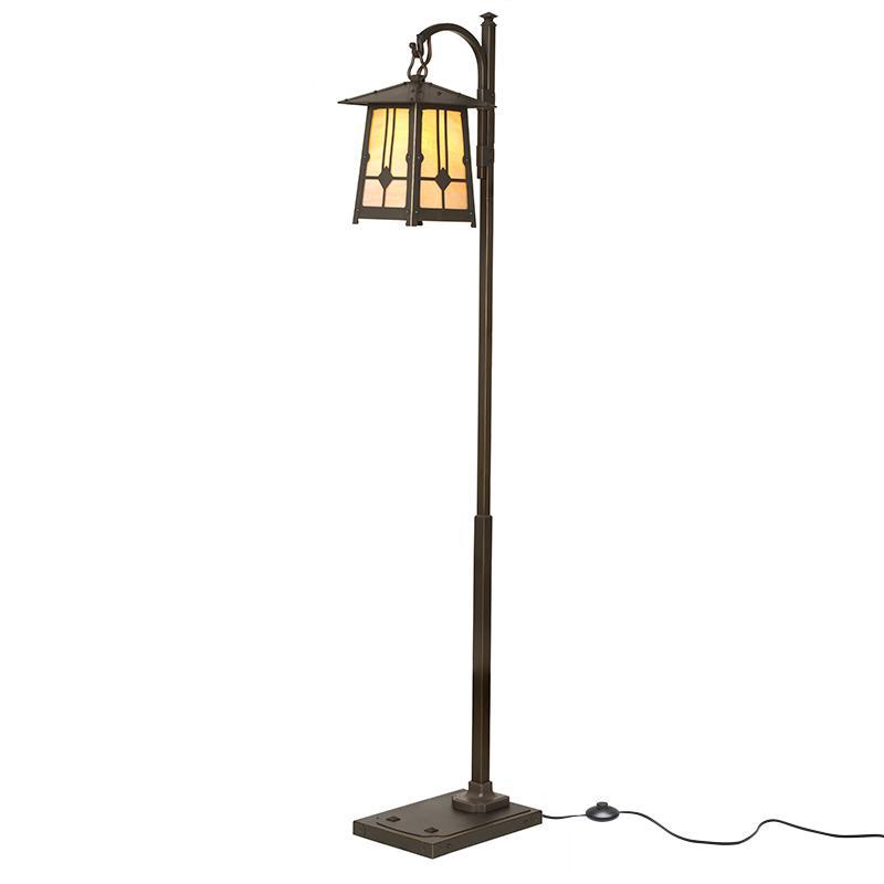 Poplar Glen Floor Lamp Craftsman Bungalow Cottage Lighting
