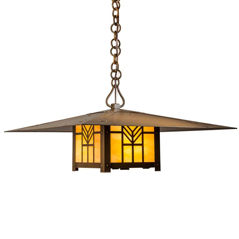 Arts And Crafts Style Interior Lighting