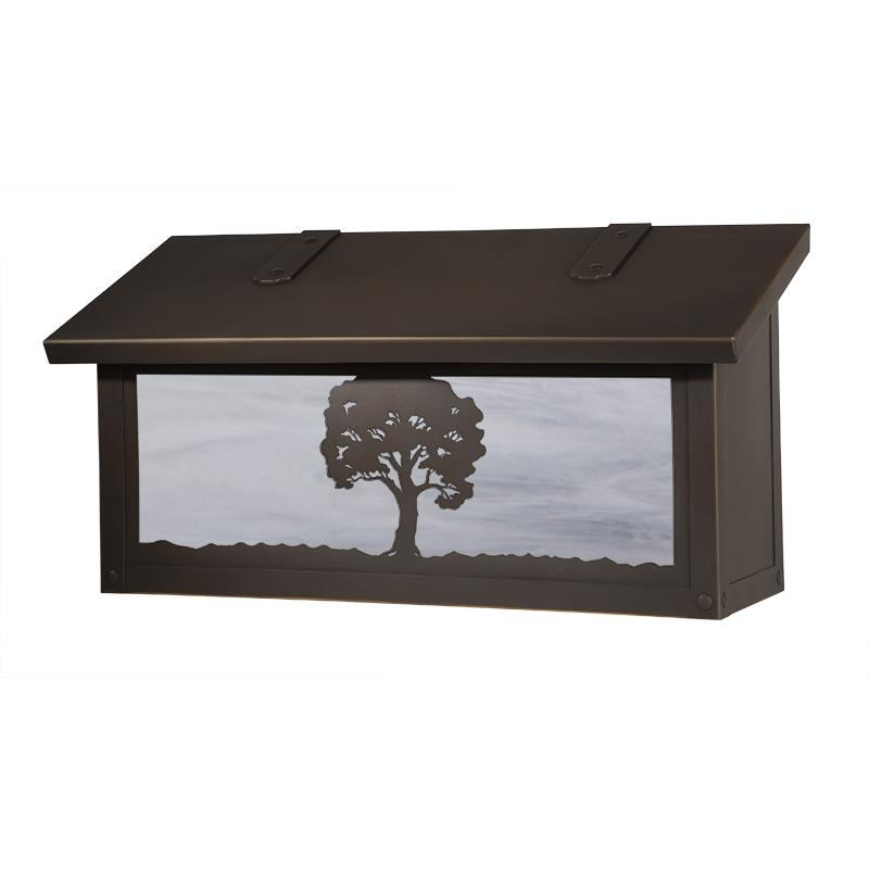 Personalized Wall Mount Mailbox
