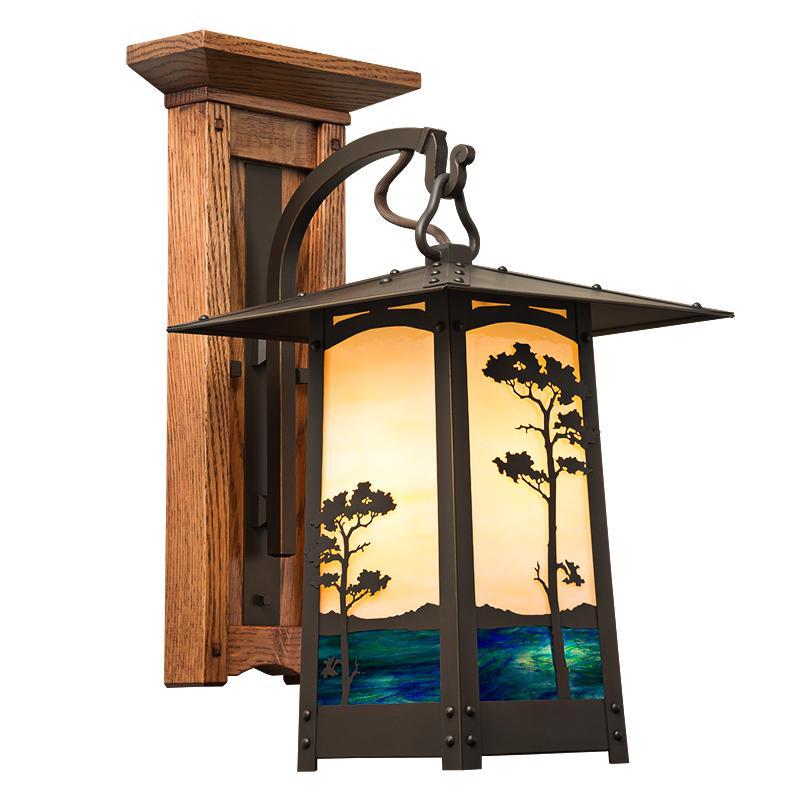 timeless design c5d60 fddcc Craftsman Wood Sconce | Old California Lighting