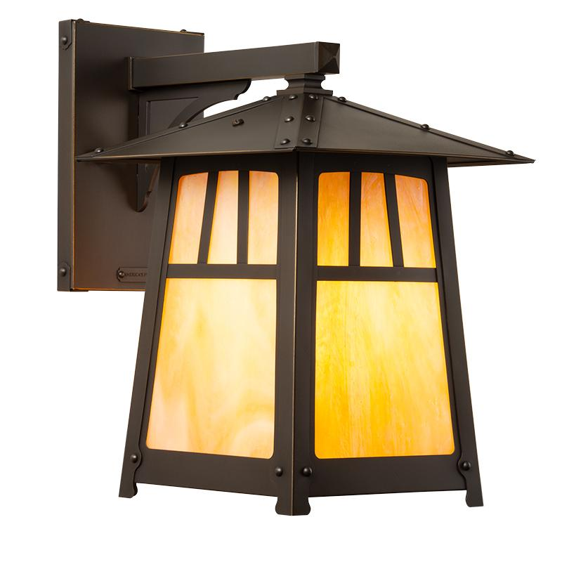 Arts And Crafts Style Exterior Lighting